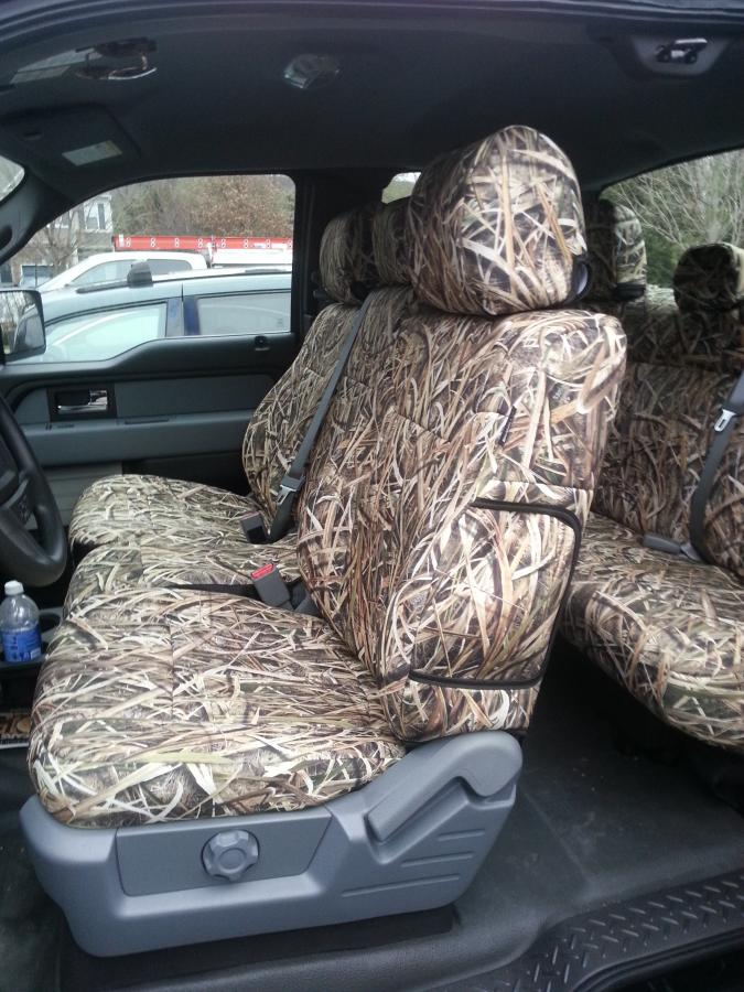 2014 Ford F150 For Sale >> Camo Seat Covers for sale!