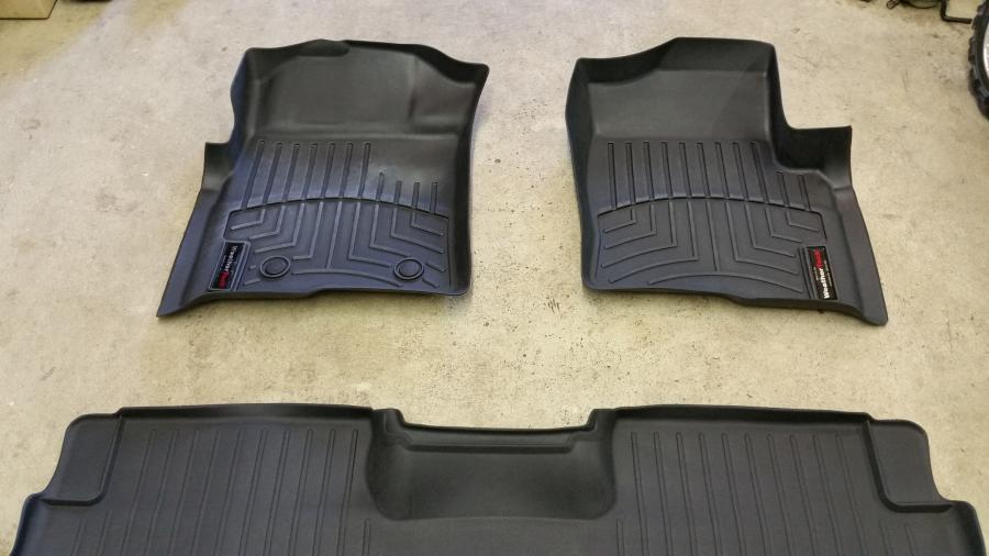 2015 F150 Lifted >> 2013 F150 Weather Tech Floor Mats (black)