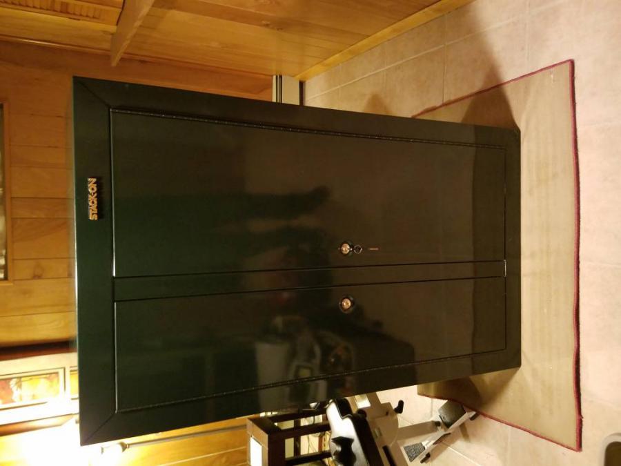 Fs Stack On 10 Gun Double Door Steel Cabinet
