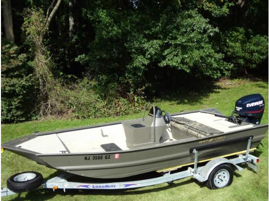 2007 War Eagle 860 18 Aluminum Duck Boat Mod V Hull 115hp