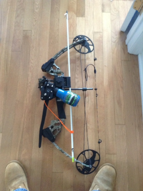 Ams reel for Bow fishing reel