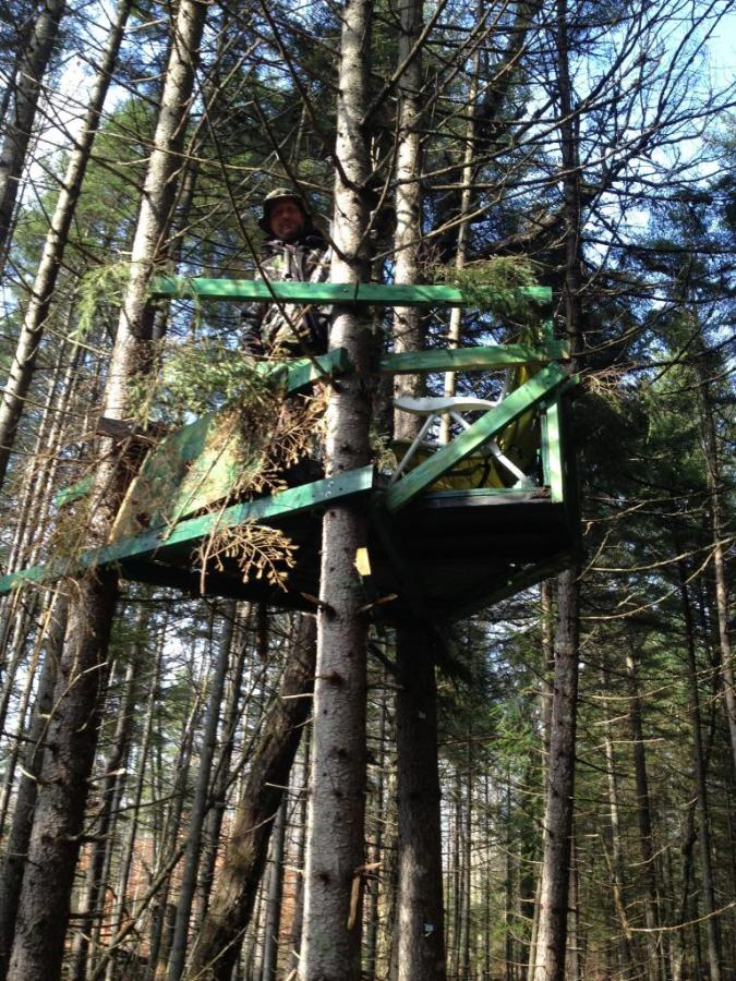For The Old School Wooden Tree Stand Guys