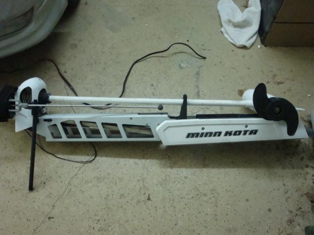 Minn kota riptide 101 trolling motor 36 volt bow for Riptide 101 trolling motor