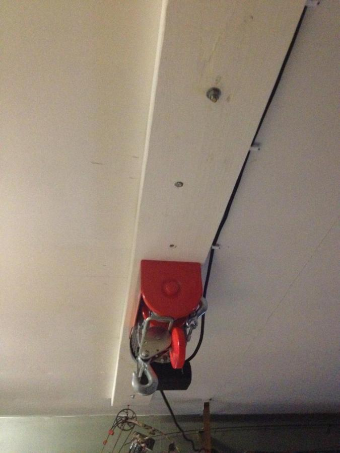 Question About Installing A Ceiling Hoist - Page 2