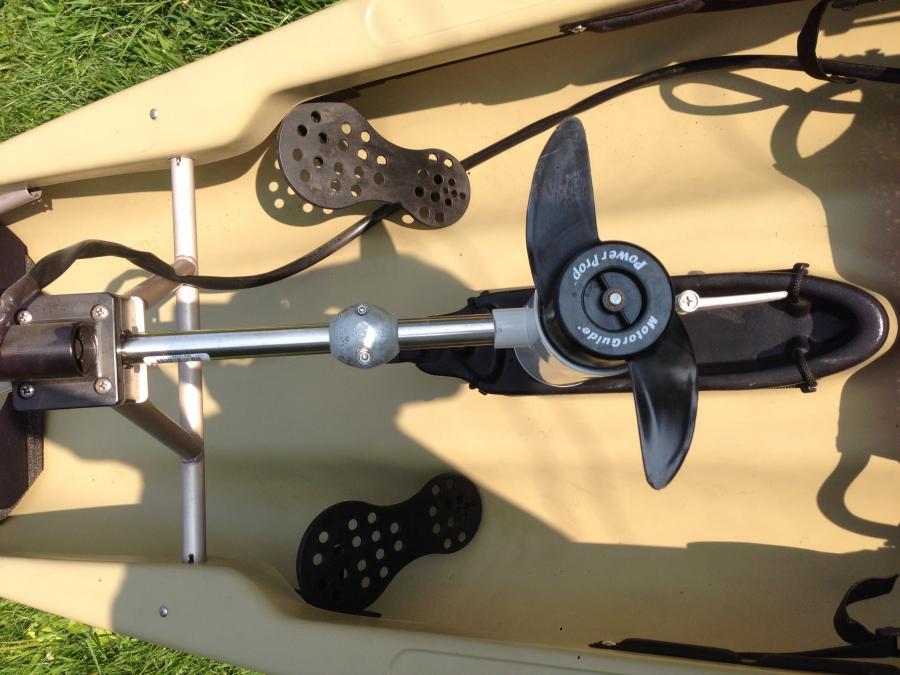 Kayak With Trolling Motor Native Ultimate Volt 1600