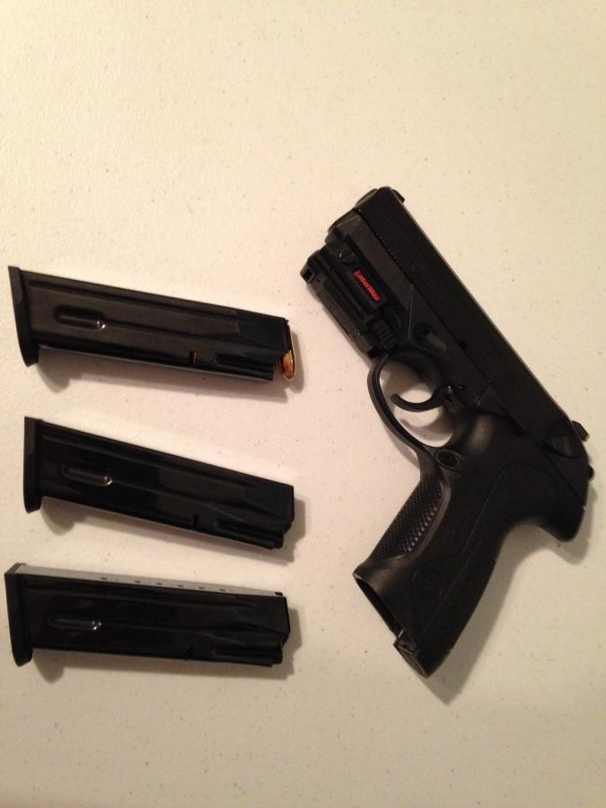 Beretta PX4 Storm 9mm with laser sight for sale