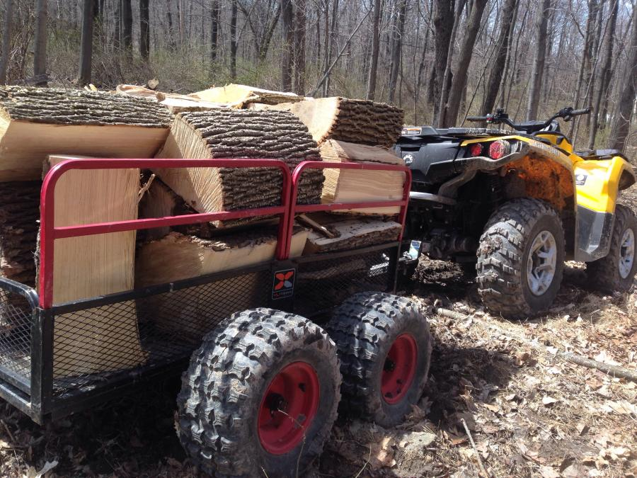 Yutrax The Best In Atv Quad Utility Trailers