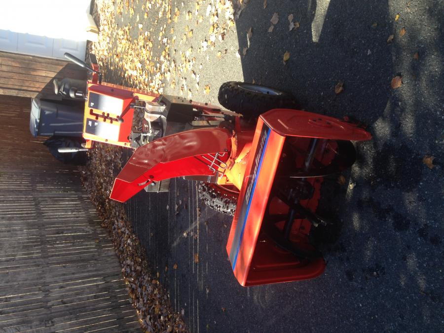 Simplicity snow king snow blower for sale