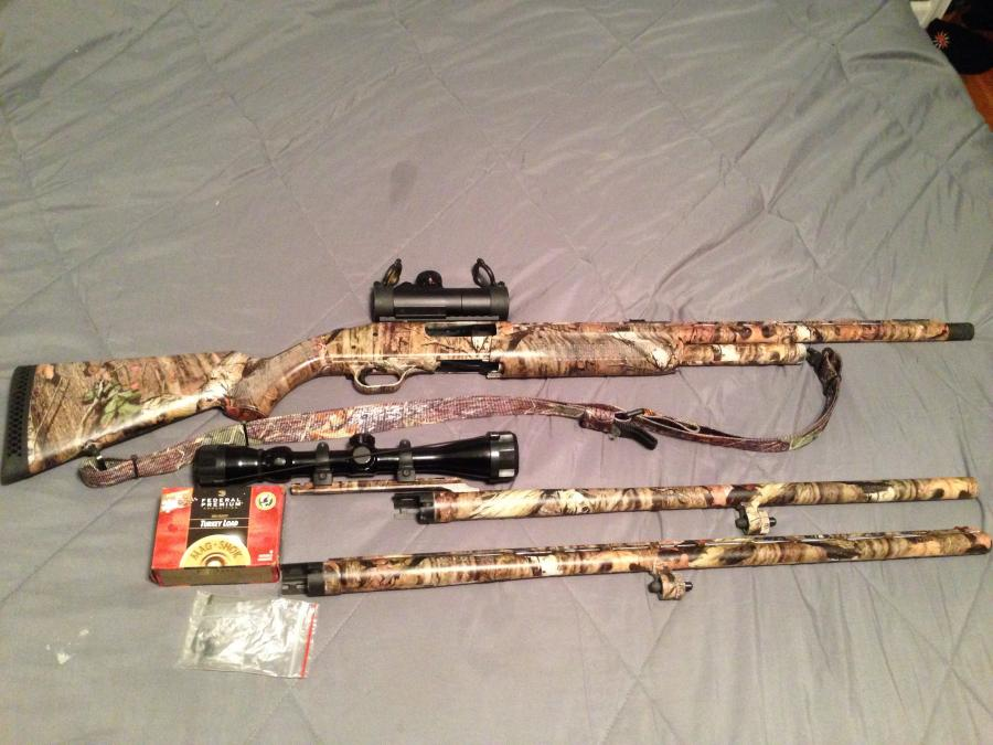 Possible for sale or trade mossberg 535 12ga  combo