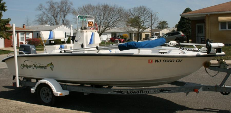 2004 17 5 Carolina Skiff Sea Chaser