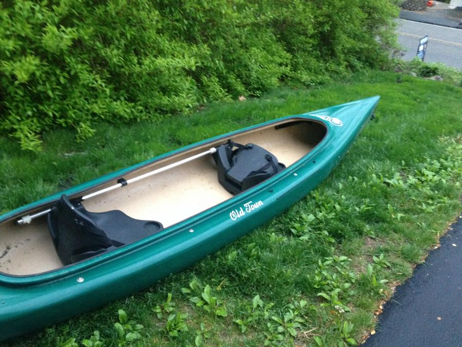 Old town otter 2 person kayak 900 ringwood for 2 person kayak fishing
