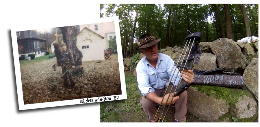 Name:  Ken Beam -NJ Outdoorsman bowhunting.jpg