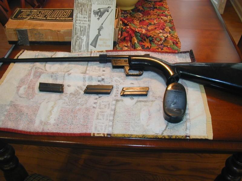 FS Charter Arms AR 7 Explorer Rifle 22LR