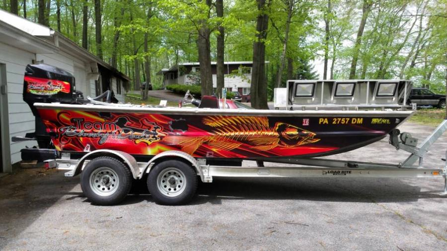New Boat Wrap Must See